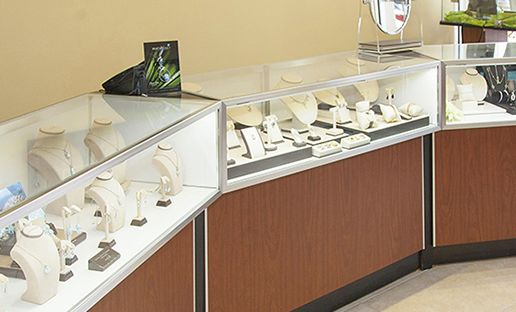 jewelry display at Vanessa Fine Jewelry Lakewood Ranch