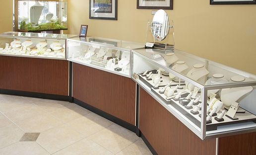 Display of fine jewelry - Lakewood Ranch